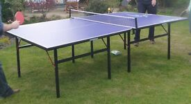 Table Tennis Table (for wedding!) - Full size with decoration