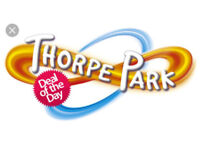 2 x tickets for Thorpe Park Sat 28 July