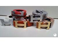 Hermes Louis Vuitton belts