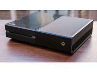 "Xbox one 500gb black with ""watch dogs"""