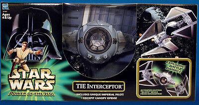 STAR WARS - POTJ - TIE Interceptor & Pilot -  sehr selten - vhtf - hot