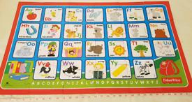 Giant alphabet floor puzzle in CR0