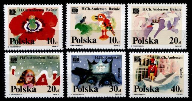 Märchen von Hans Christian Andersen. 6W. Polen 1987