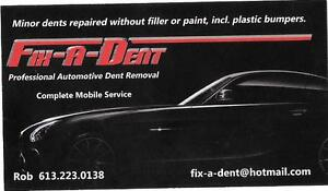 PROFESSIONAL AUTOMOTIVE DENT REMOVAL (PDR)