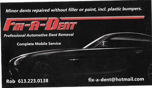 PROFESSIONAL AUTOMOTIVE DENT REMOVAL SERVICE