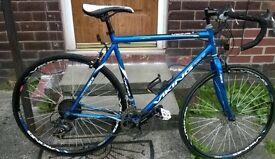 Viking road bike blue