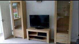 EXCELLENT CONDITION - 2 X GLASS DISPLAY CABINETS