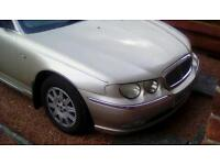 Rover 75 diesel 2.0l connoisseur 2002 02 in white gold