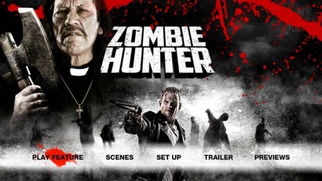 Zombie Hunter (Blu-ray, 2013) new sealed