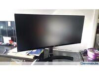 LG 34UM68 34 inch Ultrawide Height Adjustable IPS Monitor 2560 x 1080