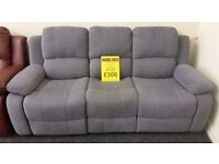 All 3 seater recliners £300