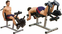 Body Solid Commercial Seated Leg Extension / Supine Leg Curl