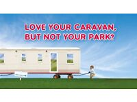 LOVE YOUR CARAVAN BUT NOT YOUR PARK? BRING ON PLOTS AVAILABLE AT CRESSWELL TOWERS HOLIDAY PARK