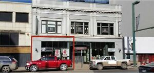 Jasper Avenue Main Floor Retail/Office Space for Lease