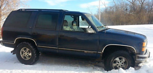 1996 GMC Yukon WITH Parts truck