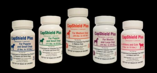 CAPSHIELD PLUS ONCE A MONTH FLEA PILLS FOR CATS 7-15LB 6 MONTH SUPPLY