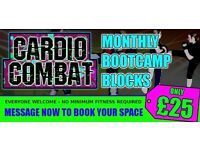 Cardio Combat Penicuik – Monthly Bootcamp Blocks