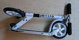 Adult Micro scooter - classic white -lightly used.
