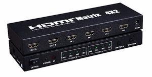 HDMI SPLITTERS, HDMI SWITCH, HDMI TO VGA, HDMI OVER CAT 5/6