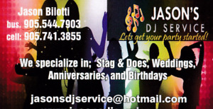 Let's Get Your Party Started With Jason's Dj Service