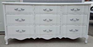 REFINISHED MALCOLM french provincial Dresser 400