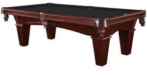 NEW 8' Pool Table w/ Accessory Kit Delivered & Installed