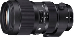 SIGMA 50-100MM F1.8 DC HSM ART CANON W' Sigma Protecter Filter