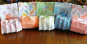 Beautiful Hand Croched Baby Blankets $25 Each Peterborough Peterborough Area image 1