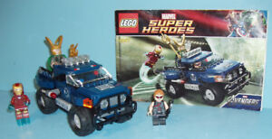 LEGO SUPER HERO no 6867, L'ÉVASION de LOKI