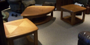 Wedge Lift Top Coffee Table & End Tables