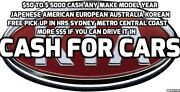 SELL YOUR MERCEDES CAR UTE VAN 4X4 TRUCK TO US 4 CASH . FREE TOW Coogee Eastern Suburbs Preview