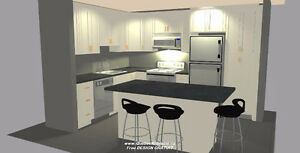 Kitchen Cabinets; Free Design For All-Wood Products @QK
