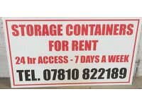 20ft x 8ft self storage container FOR RENT in ELGIN