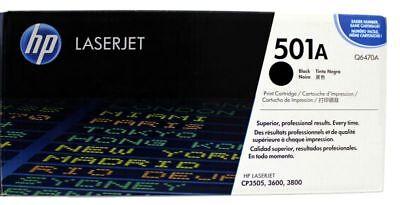 Original HP 501A Q6470A Toner black für LaserJet 3600 3800 CP3505 Karton C gebraucht kaufen  Waddeweitz
