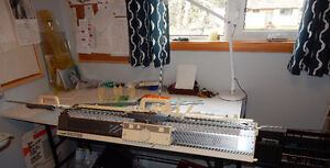 Brother KH860 Knitting Machine and Attachments Prince George British Columbia image 1