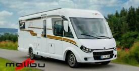 Malibu I 410 DB A-Class Motorhome by Carthago Transverse rear bed 4 berth Auto
