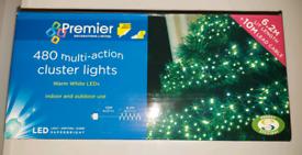 480 Multi-action LED Cluster Lights