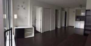 Unfurnished 1 Bedroom + Den in heart of Downtown Vancouver Avai