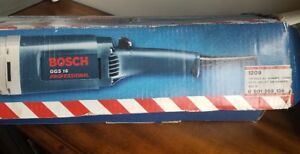 New BOSCH GGS 16 Professional 1209 Straight grinder