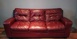Ensemble de sofa en cuir - Leather Sofa Set