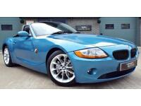 2003 BMW Z4 3.0 Rare Automatic Roadster Blue Great Example!
