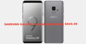 SELLING BRAND NEW SEALED PACKED SAMSUNG GALAXY S9 UNLOCKED