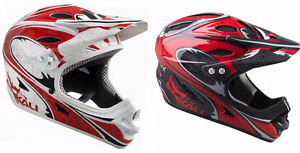 New Kali Durgana Integral Full Face Bike Helmet DH FR