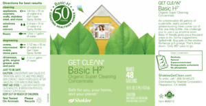 Basic H2®Organic Super Cleaning Concentrate