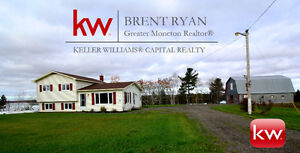 358 Route 510 in Lower Main River NB. WATERFRONT 1.9 ACRES