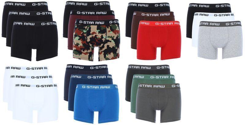 G-Star Herren Boxershorts 3er Pack