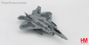 Hobby Master 1/72 scale Die-cast F-22 Raptor fighter jet
