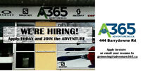 Adventure Ski & Cycle is HIRING Full-Time & Part-Time