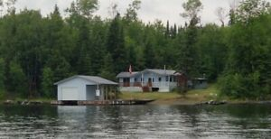 Lake of the Woods Island Cottage for Rent: 6 Wolf Island