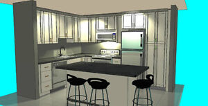Kitchen Cabinets, Granite CounterTop: From Design To Reality